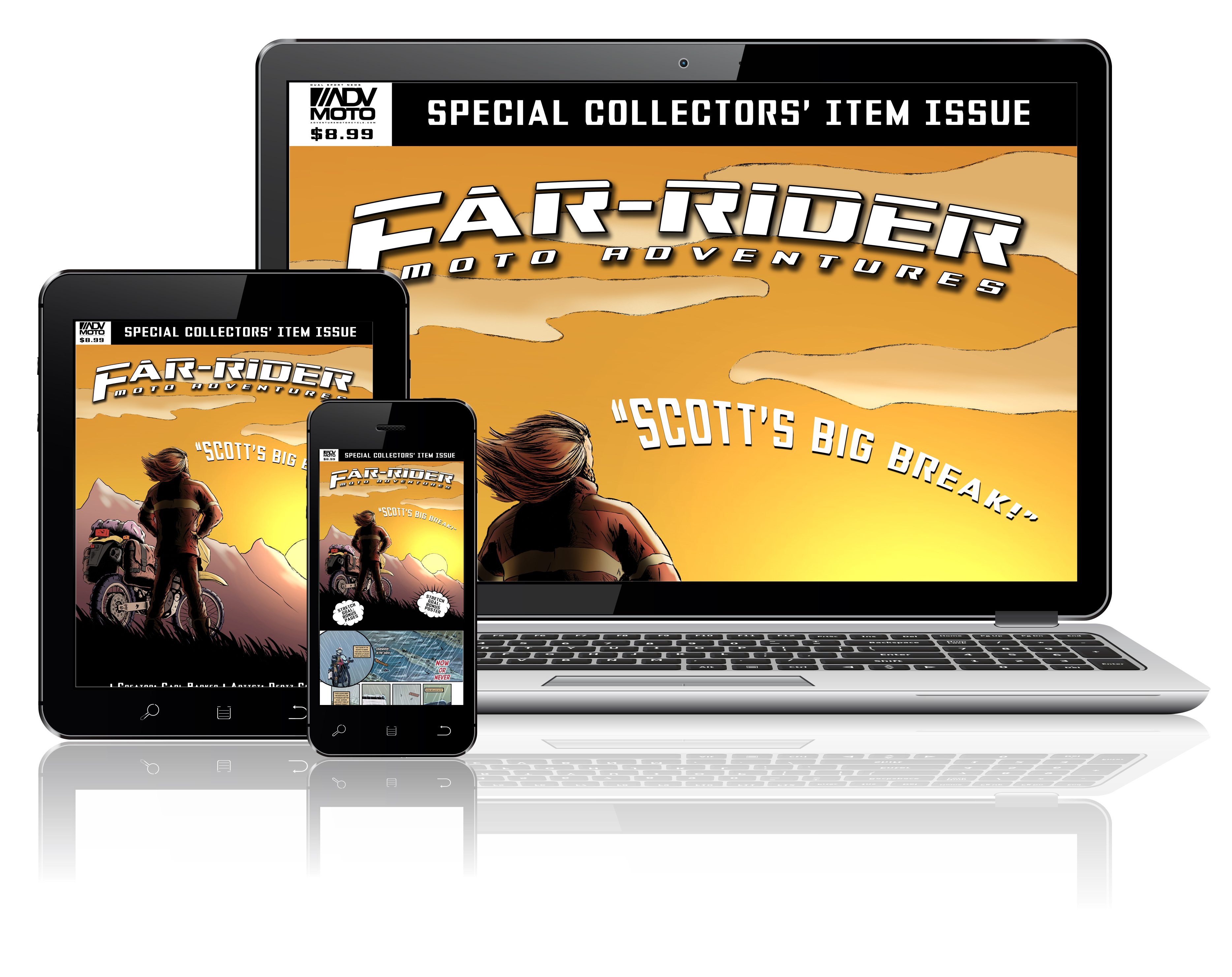 Far-Rider #1 Digital