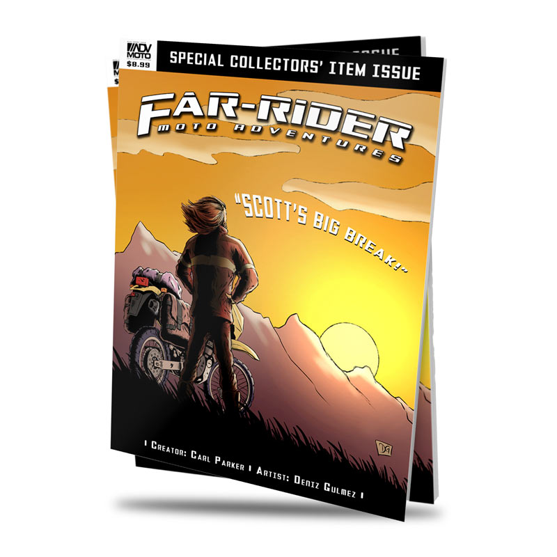 Far-Rider #1 Print + Digital
